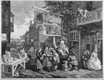 The Election II: Canvassing for Votes by William Hogarth