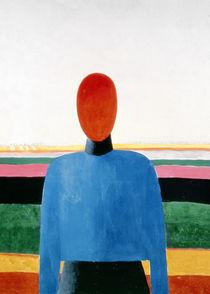 Bust of Woman by Kazimir Severinovich Malevich