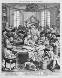 The Reward of Cruelty, 1751 by William Hogarth