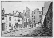 View of Cato Street, 1820 by William Henry Harriott
