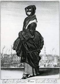 Winter, 1643 by Wenceslaus Hollar