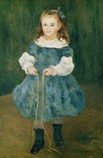 Girl with a skipping rope, 1876 von Pierre-Auguste Renoir