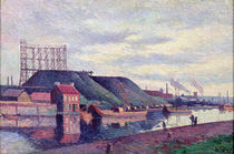 The Slag Heaps of Sacre Madame by Maximilien Luce