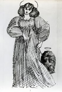 Mrs. Morris and the Wombat by Dante Gabriel Charles Rossetti