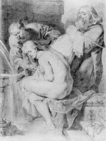 Susanna and the Elders, drawn by Lucas Vorsterman von Peter Paul Rubens