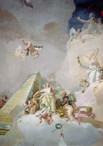 The Glory of Spain, from the ceiling of the Throne Room by Giovanni Battista Tiepolo