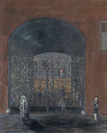 Street scene by Joachim Ringelnatz