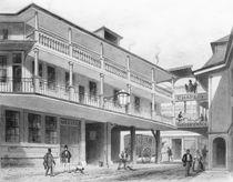 The Spread Eagle Gracechurch Street by Thomas Hosmer Shepherd