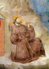 Saint Francis receiving the Stigmata by Giotto di Bondone