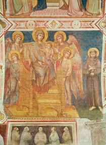 Virgin and Child, Angels and St. Francis of Assisi by Cimabue