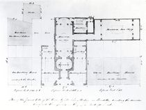 Proposed Floor Plan for the Egyptian Hall by English School