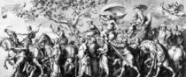 The Triumph of Riches, drawn by Jan de Bisschop von Hans Holbein the Younger