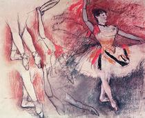 Dancer with Tambourine, or Spanish Dancer von Edgar Degas