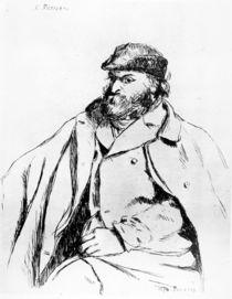 Self-Portrait, 1874 by Camille Pissarro