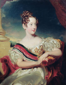 Portrait of Dona Maria II von Thomas Lawrence