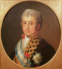 Portrait of José Antonio, Marqués de Caballero by Francisco Jose de Goya y Lucientes