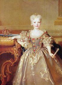 Infanta Maria Ana Victoria de Borbón by Nicolas de Largilliere