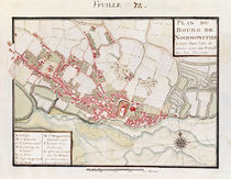Atlas 131 H. Fol 72 Plan of Noirmoutier-en-l'Ile by Claude Masse