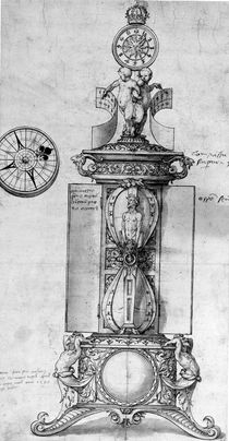 Design for a Clocksalt, c.1543 von Hans Holbein the Younger