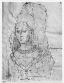 Ms 266 fol.63 Isabella of Bourbon by Flemish School