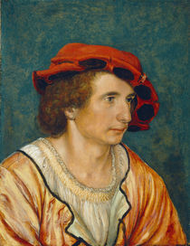 Portrait of a Young Man, c.1520-1530 von Hans Holbein the Younger