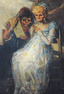 Time of the Old Women, 1820 by Francisco Jose de Goya y Lucientes