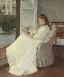 The Artist's Sister at a Window von Berthe Morisot