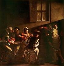 The Calling of St. Matthew by Michelangelo Merisi da Caravaggio