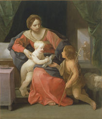 Madonna and Child with Saint John the Baptist by Guido Reni