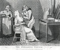 The Finishing Touch,1794 by Isaac Cruikshank
