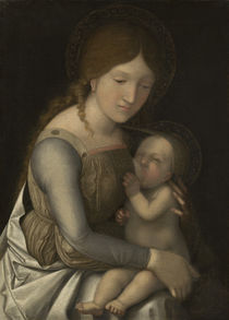 Madonna and Child, c.1505/1510 by Andrea Mantegna