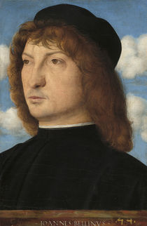 Portrait of a Venetian Gentleman von Giovanni Bellini