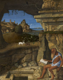 Saint Jerome Reading, 1505 von Giovanni Bellini