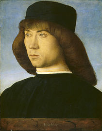 Portrait of a Young Man, c.1490 von Giovanni Bellini