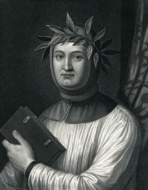 Francis Petrarch, 19th Century von English School