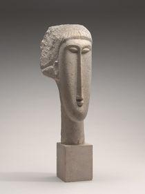 Head of a Woman, c.1910-1911 by Amedeo Modigliani