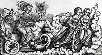 The Chariot, or the Moon in Cancer von Italian School