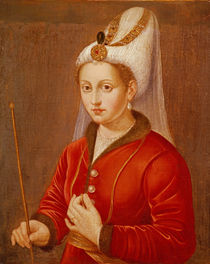 Portrait presumed to be Catherine Cornaro von Giovanni Bellini