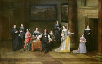 Portrait of a Family in an Interior by Anthonie Palamedesz