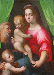 Holy Family von Domenico Puligo