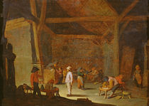 School Interior by Adriaen Jansz. van Ostade