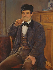 Portrait of the father of the artist von Louis Pion