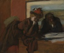 The Conversation, 1885-95 by Edgar Degas