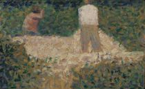 Two Stonebreakers, c.1881 by Georges Pierre Seurat