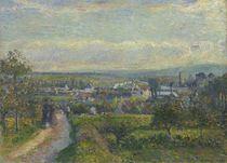 View of Saint-Ouen-l'Aumône by Camille Pissarro