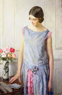 Yes or No von William Henry Margetson