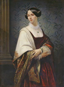 Portrait of a Woman, 1853 by Benedict Masson