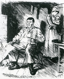 """A Real Hard Case Illustration to """"Punch by Charles Keene"""