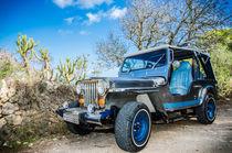 Jeep under the sunny sky of Mallorca by vasa-photography