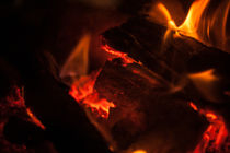 Fire / Kaminfeuer by vasa-photography